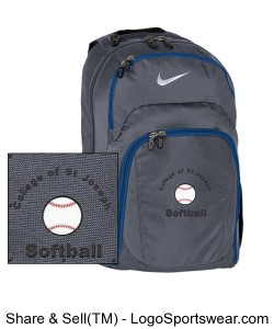 Nike Golf Performance Backpack Design Zoom